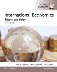 bokomslag International Economics: Theory and Policy, Global Edition