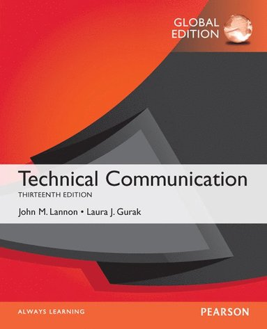 bokomslag Technical Communication, Global Edition
