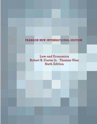 bokomslag Law and Economics: Pearson New International Edition