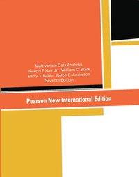 Multivariate Data Analysis: Pearson New International Edition