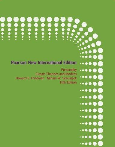 bokomslag Personality: Pearson New International Edition