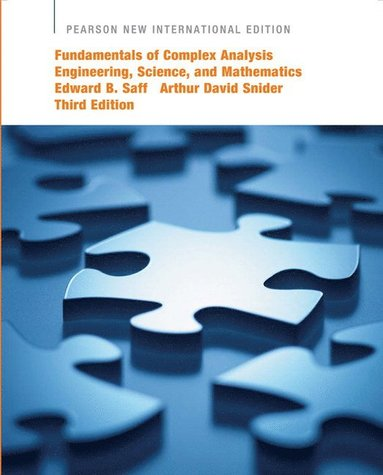 bokomslag Fundamentals of Complex Analysis with Applications to Engineering, Science, and Mathematics