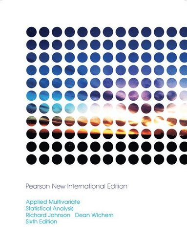 bokomslag Applied Multivariate Statistical Analysis: Pearson New International Edition