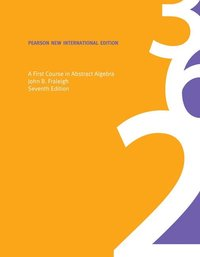 bokomslag A First Course in Abstract Algebra