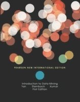 bokomslag Introduction to Data Mining: Pearson New International Edition