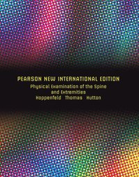 bokomslag Physical examination of the spine and extremities: pearson new internationa