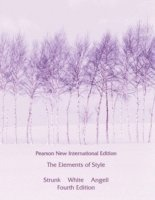 bokomslag Elements of Style, The: Pearson New International Edition