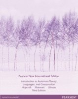 bokomslag Introduction to Automata Theory, Languages, and Computation: Pearson New International Edition