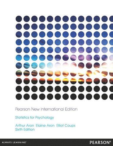 bokomslag Statistics for Psychology: Pearson New International Edition