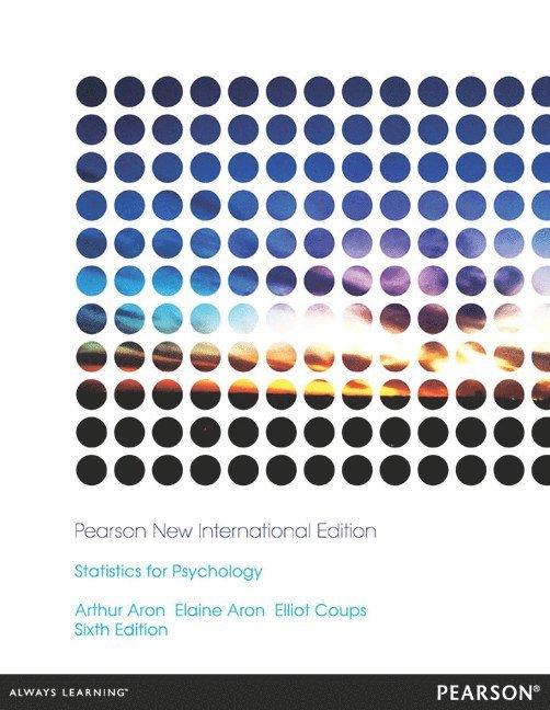 Statistics for Psychology: Pearson New International Edition 1