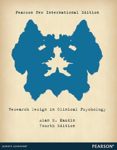 bokomslag Research Design in Clinical Psychology: Pearson New International Edition