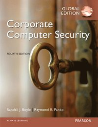 bokomslag Corporate Computer Security, Global Edition