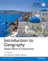 bokomslag Introduction to Geography: People, Places, and Environment, Global Edition