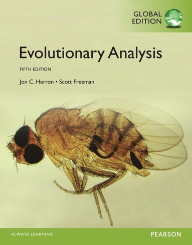 bokomslag Evolutionary Analysis, Global Edition