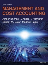 bokomslag Management and Cost Accounting