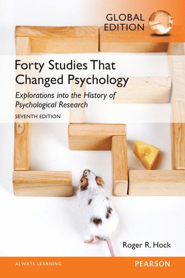 bokomslag Forty Studies that Changed Psychology, Global Edition