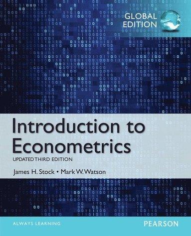 bokomslag Introduction to Econometrics, Update with MyEconLab, Global Edition