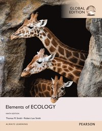 bokomslag Elements of Ecology, Global Edition