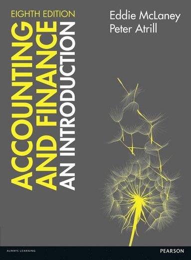 bokomslag Accounting and Finance: An Introduction 8th edition