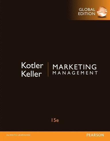 bokomslag Marketing Management, Global Edition