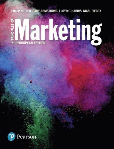bokomslag Principles of marketing european edition 7th edn