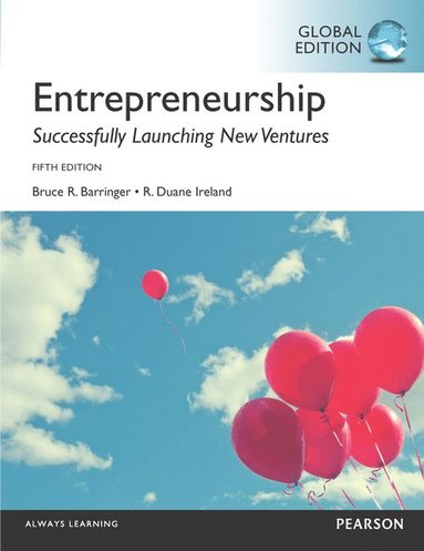 bokomslag Entrepreneurship, Global Edition