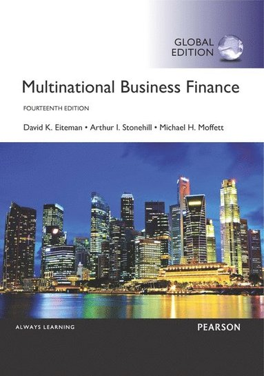 bokomslag Multinational Business Finance, Global Edition