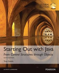 bokomslag Starting Out with Java: From Control Structures through Objects, Global Edition