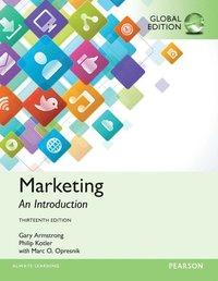 bokomslag Marketing: An Introduction, Global Edition