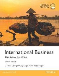 bokomslag International Business: The New Realities, Global Edition