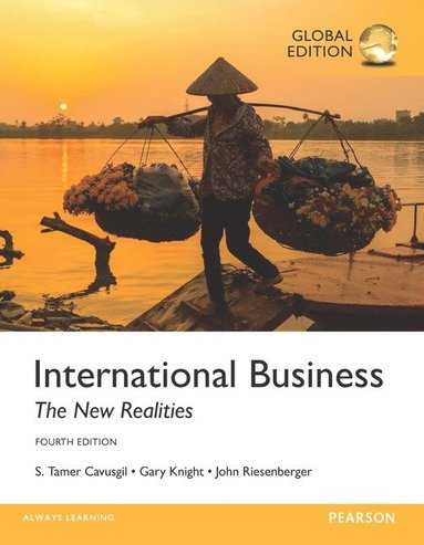 bokomslag International Business: The New Realities, Global Edition