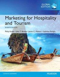 bokomslag Marketing for Hospitality and Tourism, Global Edition