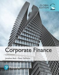bokomslag Corporate Finance, Global Edition