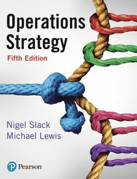 bokomslag Operations Strategy