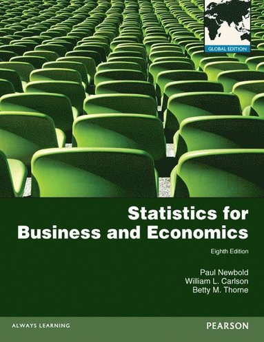 bokomslag Statistics for Business and Economics plus MyMathLab with Pearson eText, Global Edition
