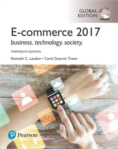 bokomslag E-Commerce 2017, Global Edition
