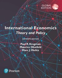 bokomslag International Economics: Theory and Policy plus Pearson MyLab Economics with Pearson eText, Global Edition