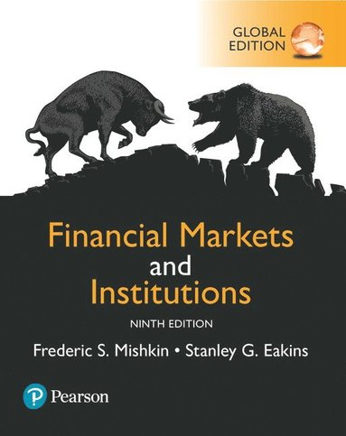 bokomslag Financial Markets and Institutions, Global Edition