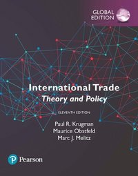 bokomslag International Trade: Theory and Policy plus Pearson MyLab Economics with Pearson eText, Global Edition