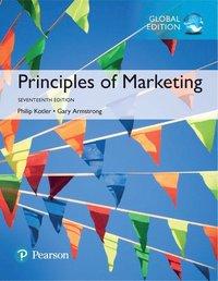 bokomslag Principles of Marketing, Global Edition