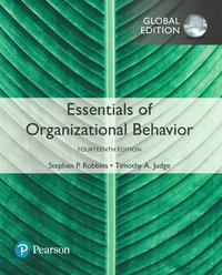 bokomslag Essentials of Organizational Behavior plus Pearson MyLab Management with Pearson eText, Global Edition