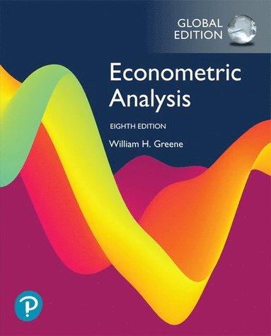 bokomslag Econometric Analysis, Global Edition