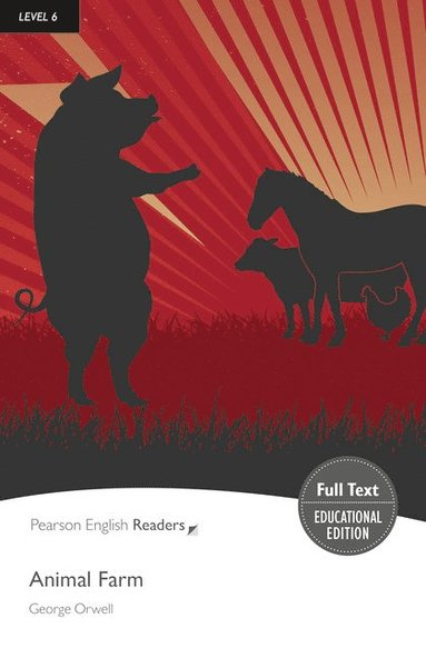 bokomslag Animal Farm : Level 6 - Pearson English Graded Readers
