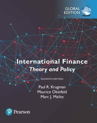 bokomslag International Finance: Theory and Policy plus Pearson MyLab Economics with Pearson eText, Global Edition