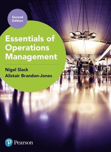 bokomslag Essentials of Operations Management