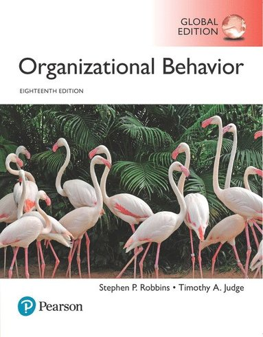 bokomslag Organizational Behavior, Global Edition