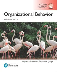 bokomslag Organizational Behavior plus Pearson MyLab Management with Pearson eText, Global Edition