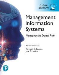 bokomslag Management Information Systems: Managing the Digital Firm, Global Edition