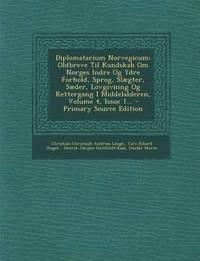 bokomslag Diplomatarium Norvegicum