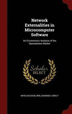 bokomslag Network Externalities in Microcomputer Software